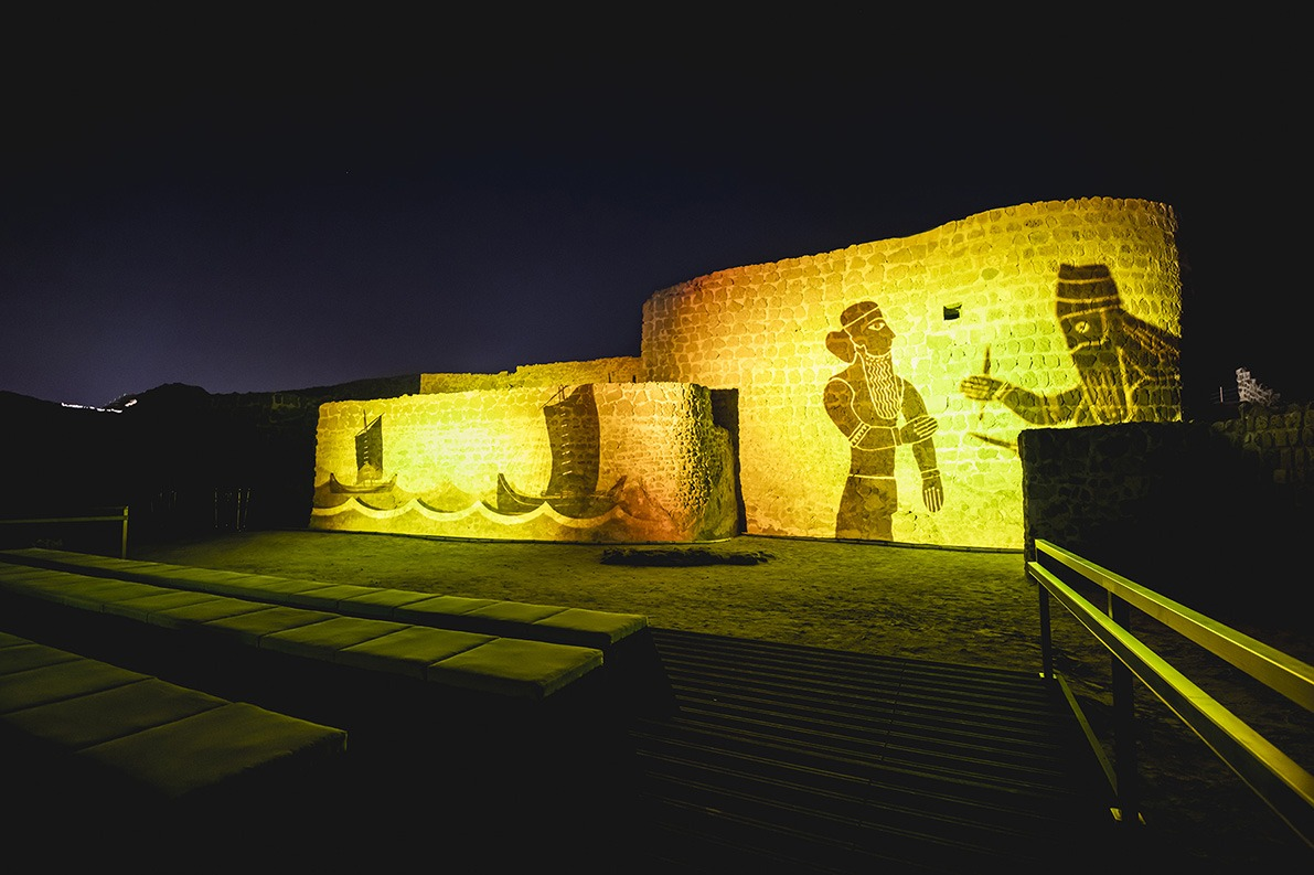 QAL'AT AL-BAHRAIN AUDIOVISUAL EXPERIENCE