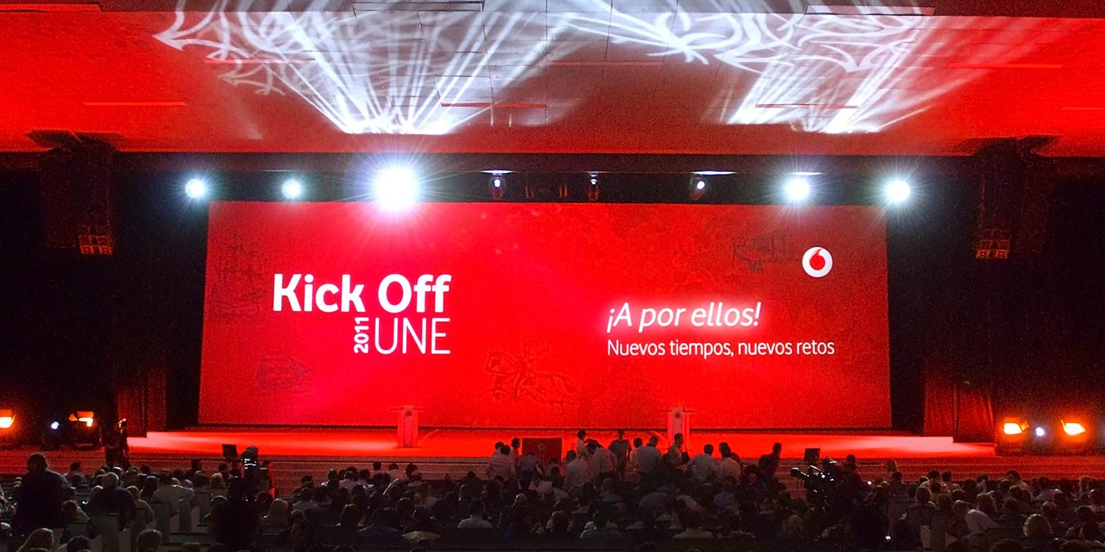 KICK OFF UNE VODAFONE