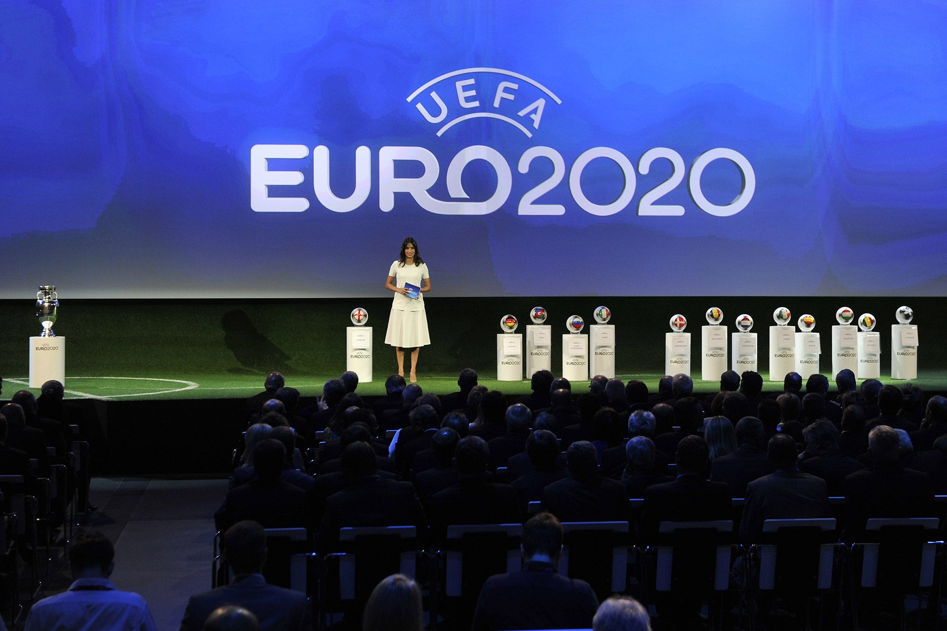 UEFA EURO 2020 ANNOUNCEMENT CEREMONY